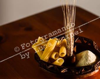 Fine Art print kitchen furniture-Pasta
