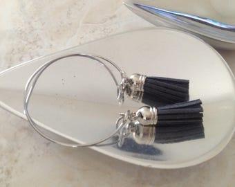 Tassel Bangle Bracelet