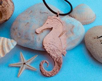 Seahorse pendent, seaside, beach, summer