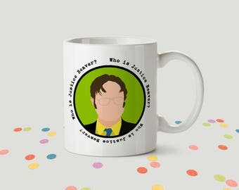Dwight Shrute Ceramic Mug