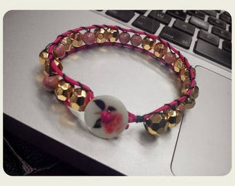 """Just a bracelet style """"Wrap"""", unique and handmade"""