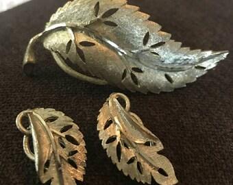 Vintage 3 Piece Jewelry Set By BSK