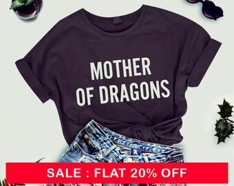 Mother of Dragons Shirt - Tumblr T Shirts Gift for mom Funny Mom Shirt Dragon TShirt Mother Shirt Womens Instagram Fashion T-Shirt