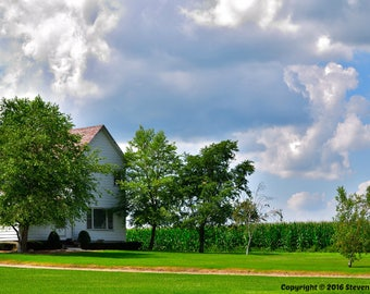 Clouds over the Farmhouse
