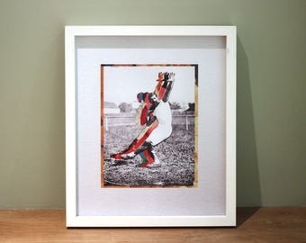 Josef - Digital Collage Art Print Poster
