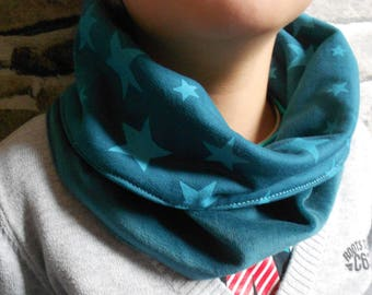 Round neck or snood for boy
