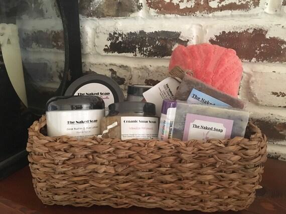 Pampered Spa gift basket