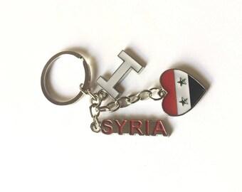 I love Syria Trio- 3 Pieces Keychain Souvenir
