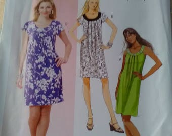 Butterick 5488 New sewing pattern loose dress 4-26
