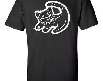 Black Panther T Shirt Lion King Inspired Sz:S-2XL