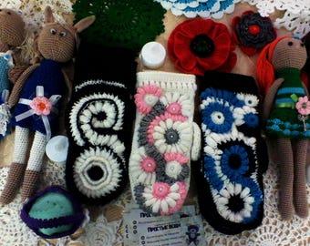 mittens crochet