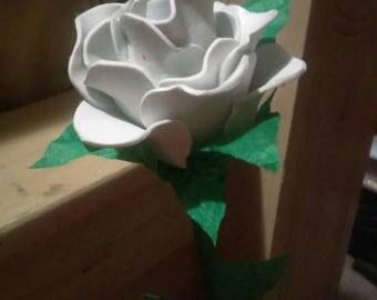 White Rose hand-made