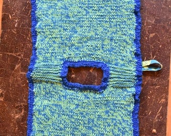 Pot holder Blue-Blue
