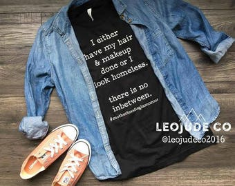 Funny MOM shirt- #motherhoodisglamorous ©