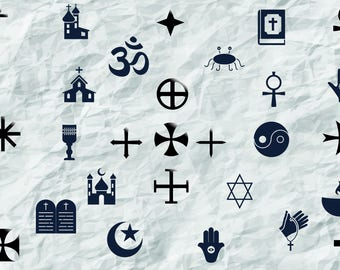 28 Crosses and Religious icons