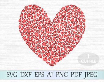 Heart Svg, Heart clipart, Heart print svg, Love svg, Wedding Svg, Valentine heart svg, Valentine design svg, Valentine svg, Valentines day
