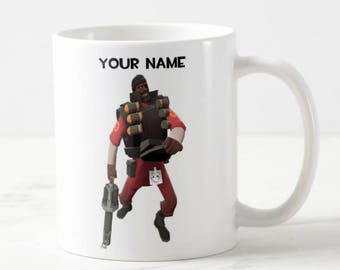 Personalised Team Fortress 2 Mug - TF2 Mug - Custom Mug - Funny Mug - Gift Mug - Gift For Him - Team Fortress 2 - TF2 - Custom Gift
