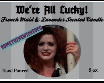 Rocky Horror Picture Show Magenta Inspired Candle