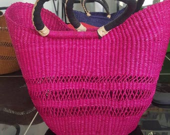 U shopper (Bolga bags/basket from Ghana)