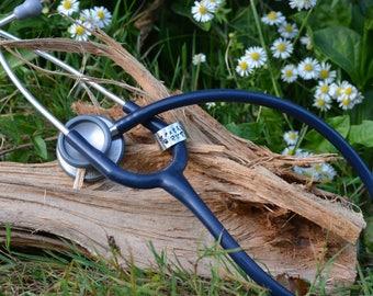Stethoscope RVT Name Tag Cuff