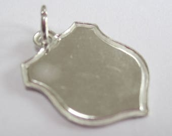 Sterling Silver Charm - Coat of Arms. collectable, vintage charms, pendant, charm bracelet.