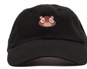 Kanye West Dropout Bear Dad Hat/Cap