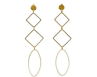 XL Extra Long earrings