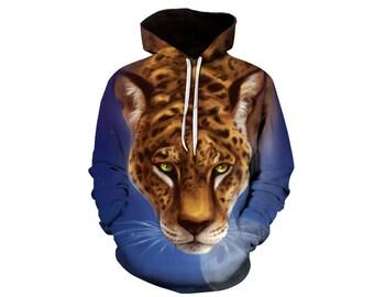 Leopard Hoodie, Leopard, Leopard Hoodies, Animal Prints, Animal Hoodie, Animal Hoodies, Leopards, Hoodie, 3d Hoodie, 3d Hoodies Style 2