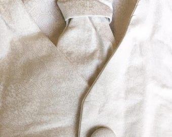Christening Vest and Tie Set