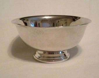 "Marvelous Silverplate ""Paul Revere"" Miniature Nut/Mint Bowl"