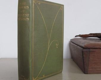 The Poems of Ernest Dowson. With a memoir by Arthur Symons - [Aubrey Beardsley]