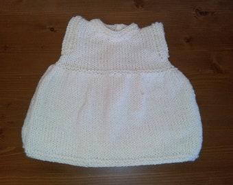 Ecru dress knit 1/3 months