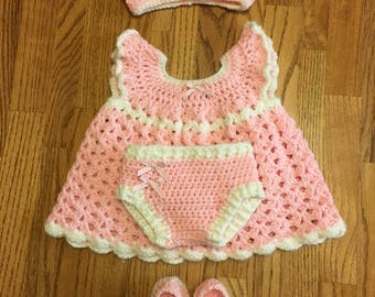 Baby Dresses With Accessories