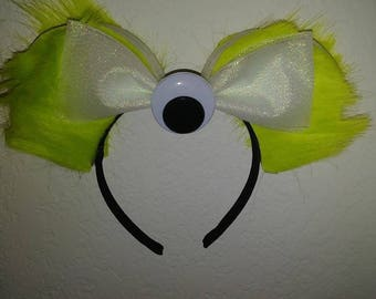 Monsters Inc Mike Wasowski Minnie Ears