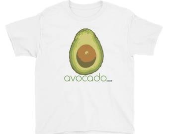 Avocado T-Shirt - Kids - Foodie - Chef - Organic
