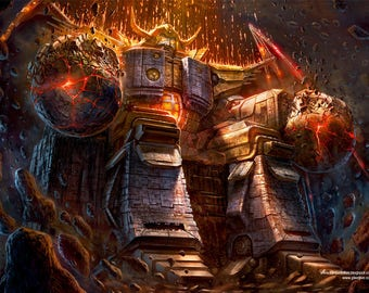 TRANSFORMERS - Unicron Destroyer of Worlds