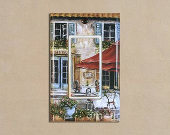 Tuscan Cafe 1   Light Switch Plate Covers Home Decor Outlet