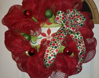 Decomesh Christmas Wreath