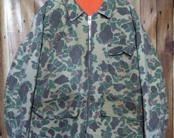 SEARS military reversible jacket