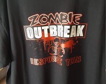 Zombie Outbreak Response Team Tee Shirt