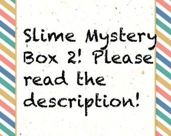 Slime Mystery Box 2!Slime,Slime Mystery Box,Slime Box,Slime Kit,Slime box with extras,Slime Mystery box, Slime, Slime Mystery,slime package,