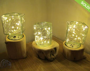 New Small Log Lamps