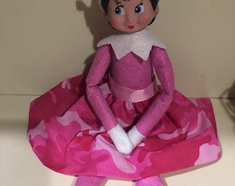 Pink camo elf