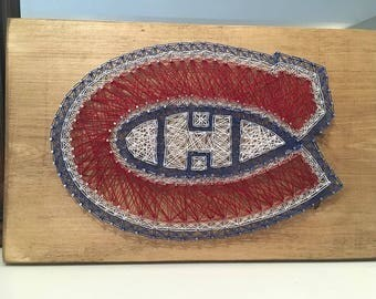 Montreal Canadiens String Art
