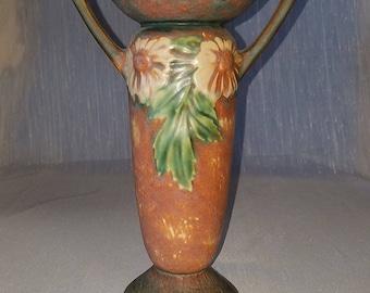 Roseville Pottery Dahlrose Vase