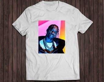 Travis Scott white shirt