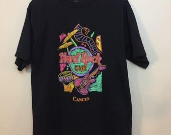 Vintage Hard Rock Cafe Cancun T-shirt
