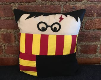 Harry Potter, Plush, Wizard, Decorative, Throw Pillow, Gryffindor