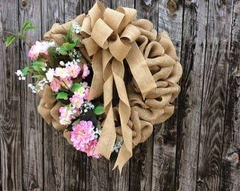 Spring Bouquet Wreath