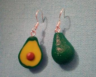 Avocado earrings